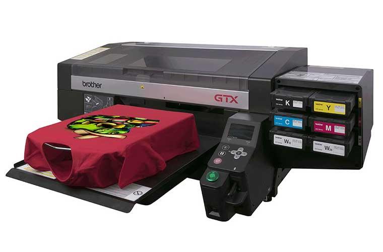 Industrial textile printers