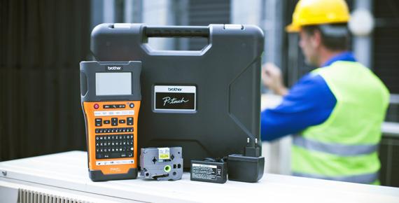 Brother P-touch E550W label printer