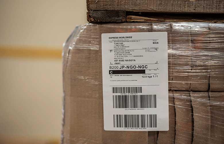 Industriële labelprinters transport en logistiek