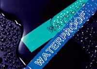 P-touch ruban laminé résistant à l'eau testé à l'extrême