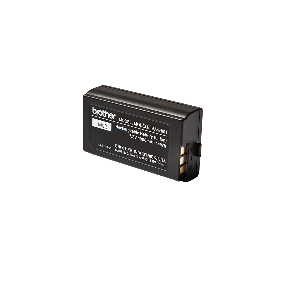 Originele Brother BA-E001 Lithium-ion oplaadbare batterij