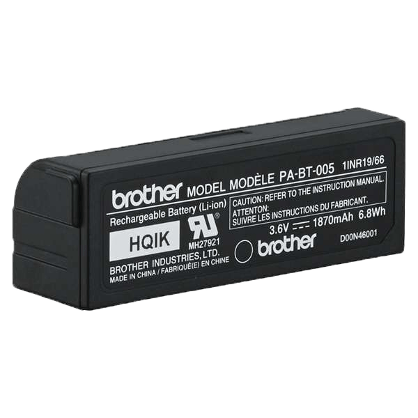 PA-BT005 herlaadbare batterij voor de PT-P710BT P-touch CUBE Plus labelprinter 4