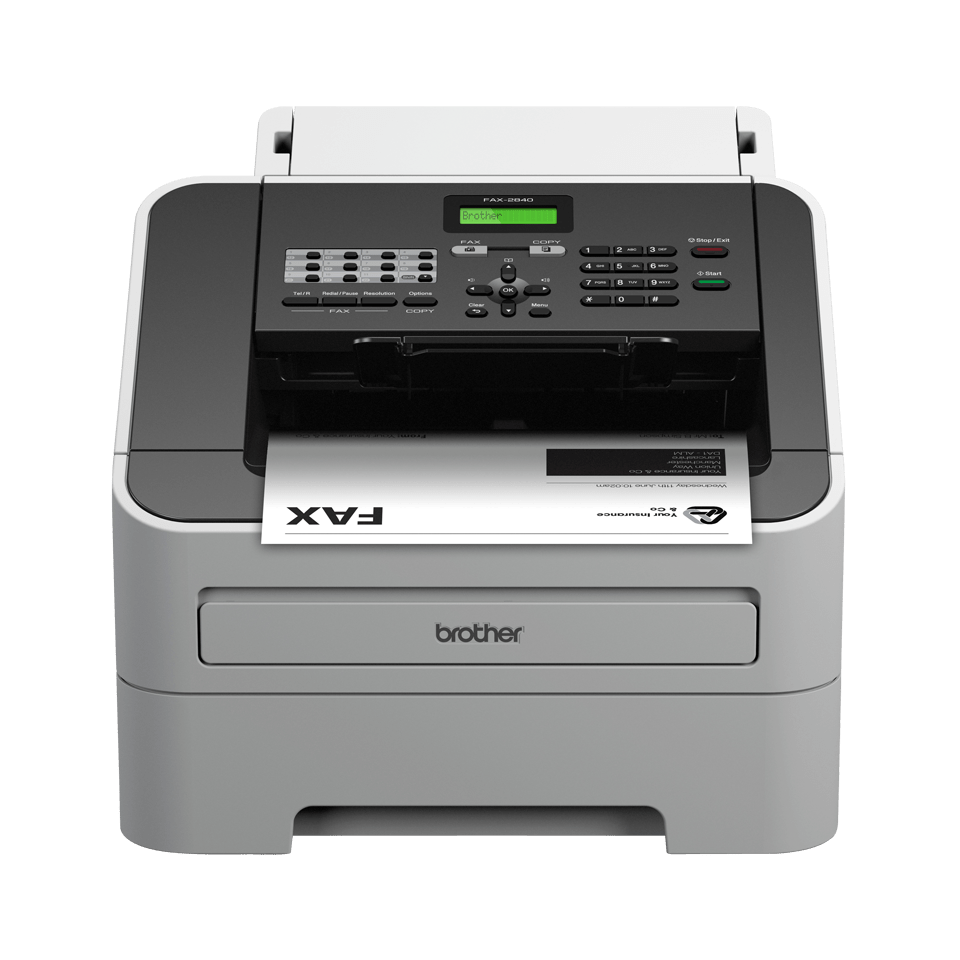 Fax apparaten