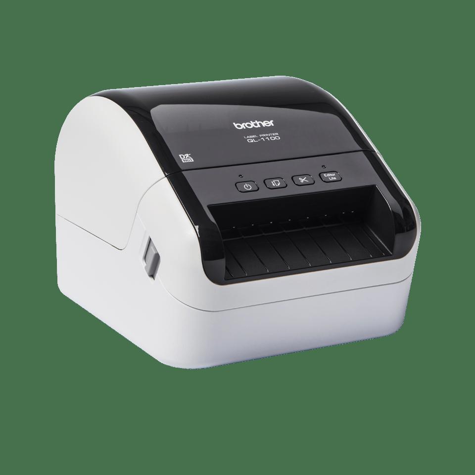 QL-1100 imprimante d'étiquettes de bureau 4 pouces / 102 mm pour larges étiquettes d'expédition avec codes-barres 3