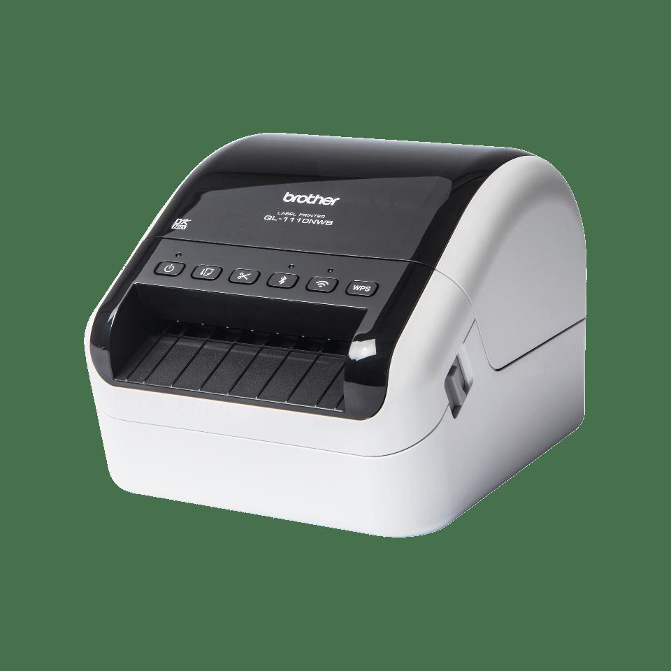 QL-1110NWB 4 inch / 102 mm desktop labelprinter voor brede verzendlabels met barcodes 2
