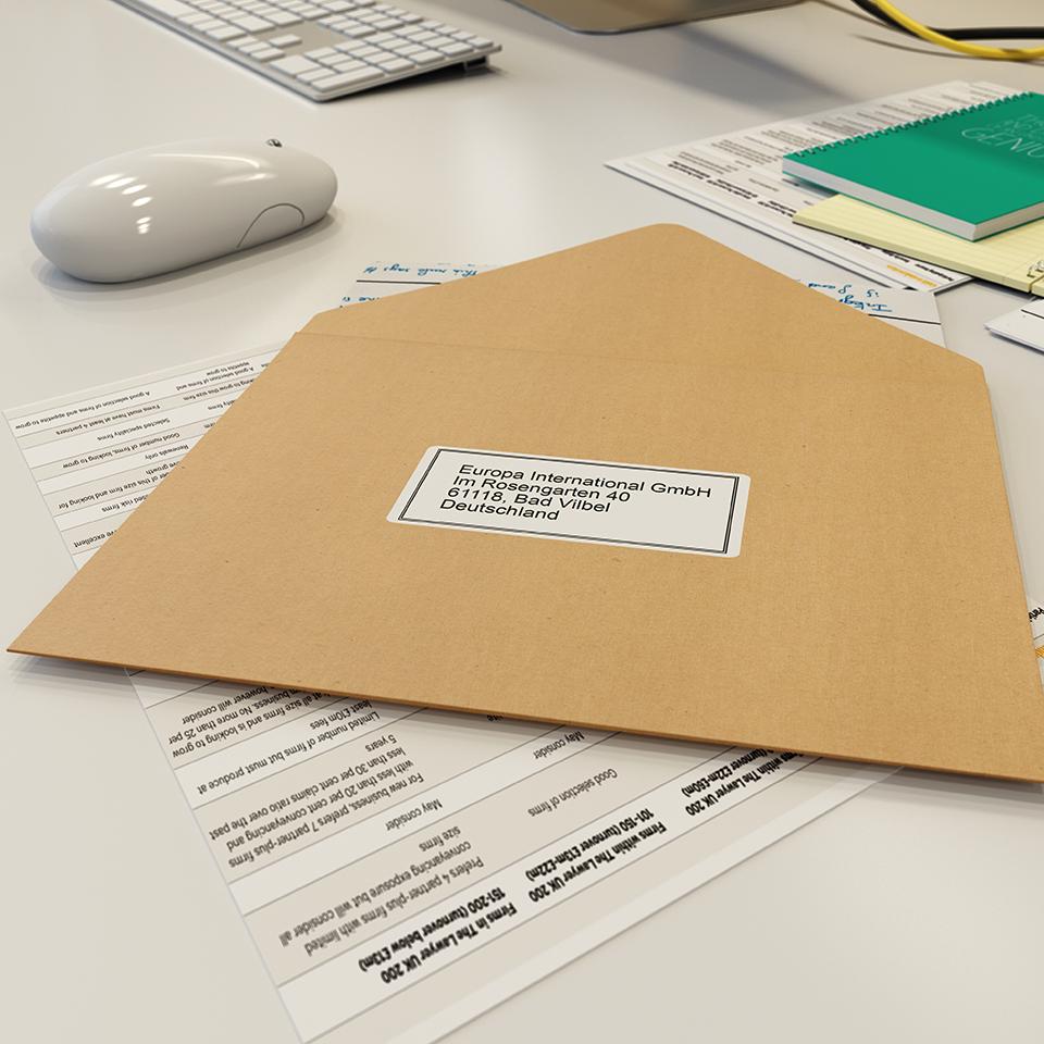QL-600 62mm desktop labelprinter voor adres- en verzendlabels 4