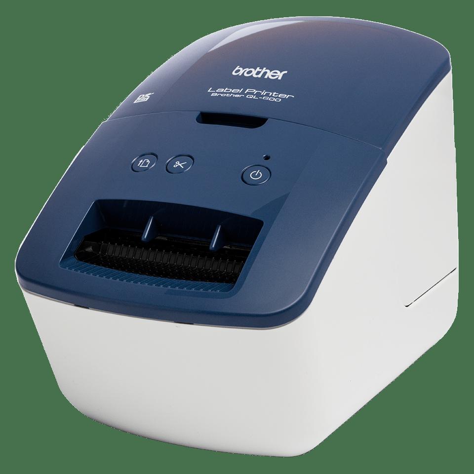 QL-600 imprimante d'étiquettes professionnelle 62mm - impression d'étiquettes d'adressage et d'expédition 2