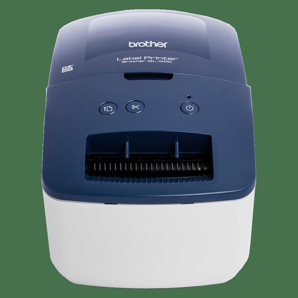 QL-600 62mm desktop labelprinter voor adres- en verzendlabels