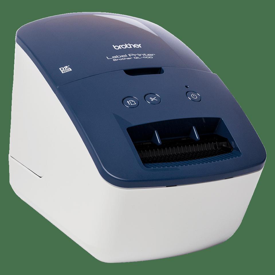 QL-600 62mm desktop labelprinter voor adres- en verzendlabels 3