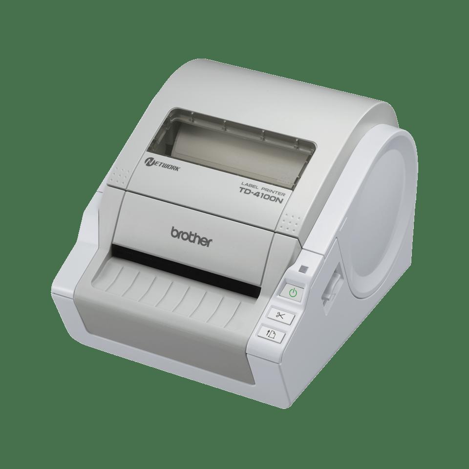 TD-4100N imprimante d'étiquettes réseau industrielle 4 pouces