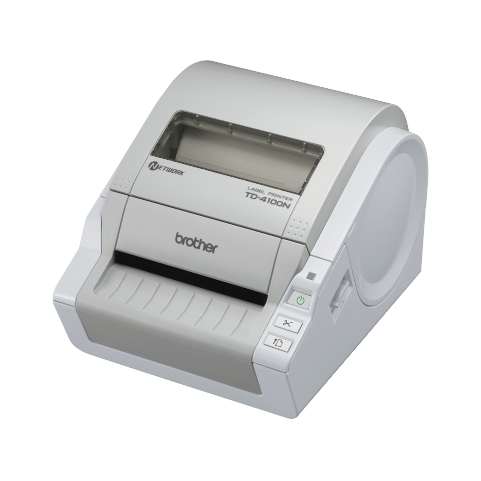 TD-4100N 4 inch desktop labelprinter - direct thermisch
