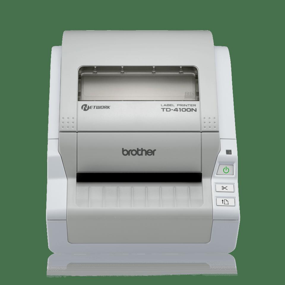 TD-4100N imprimante d'étiquettes réseau industrielle 4 pouces 2