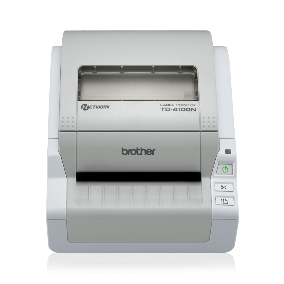 TD-4100N 4 inch desktop labelprinter - direct thermisch 2