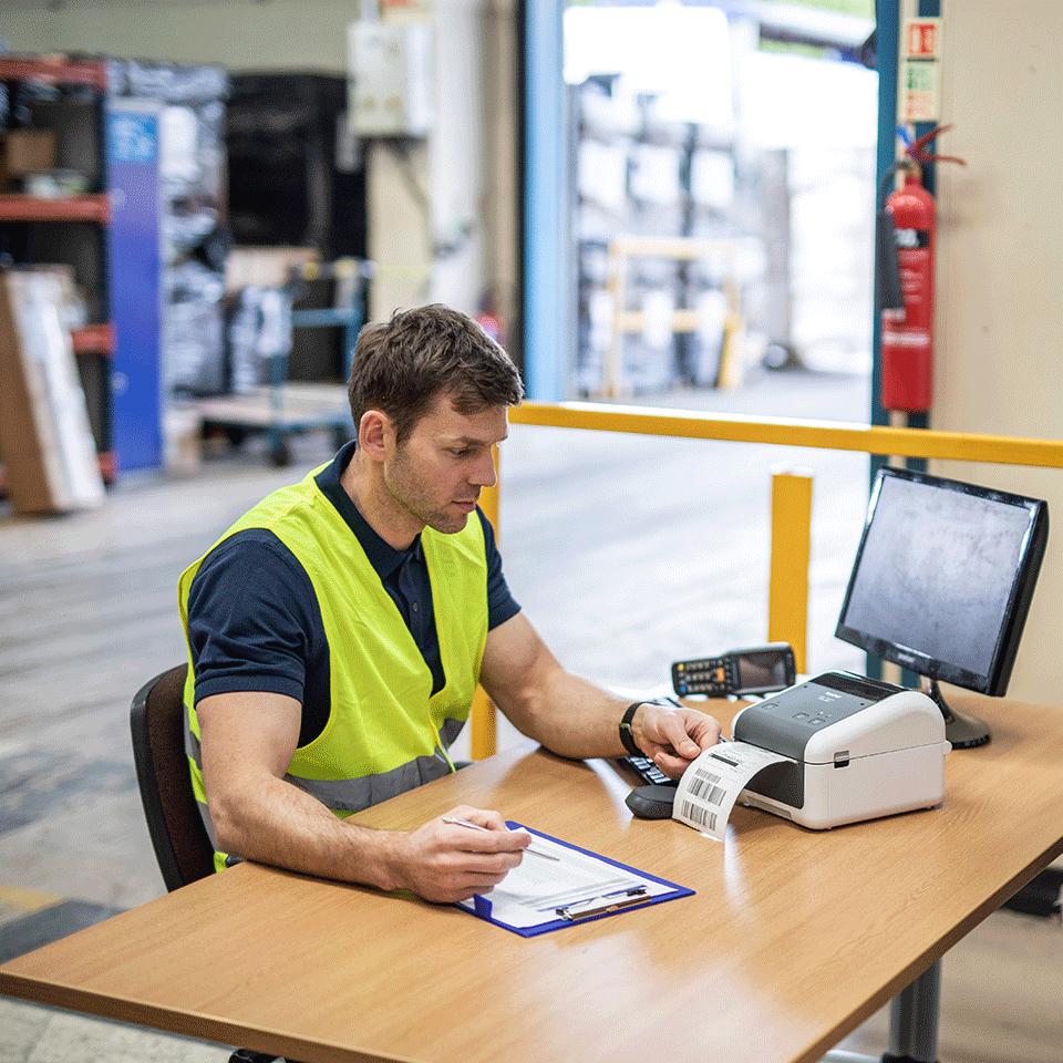 TD-4410D imprimante d'étiquettes industrielle 4 pouces 4