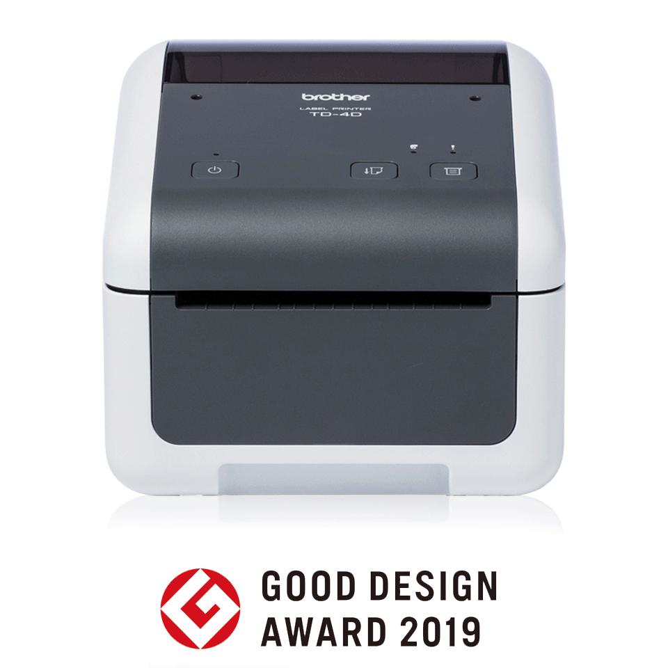 TD-4410D Professionele desktoplabelprinter