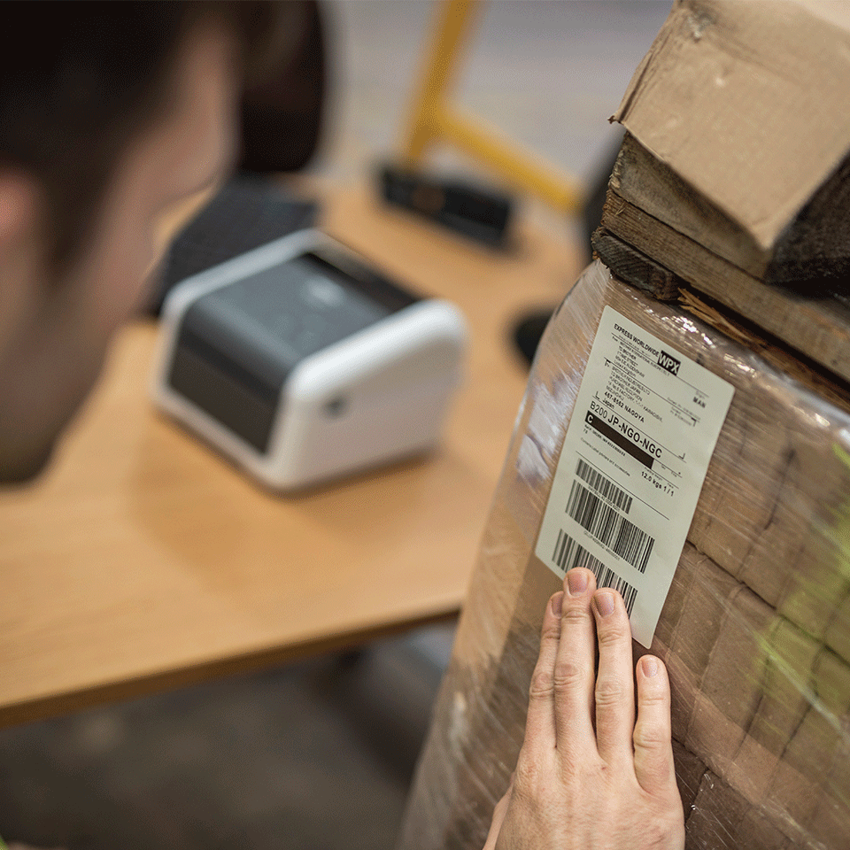 TD-4420DN 4 inch desktop labelprinter - direct thermisch 5