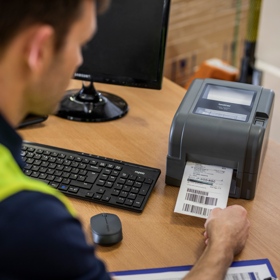 TD-4420TN Thermo-transfer labelprinter met Ethernet 6