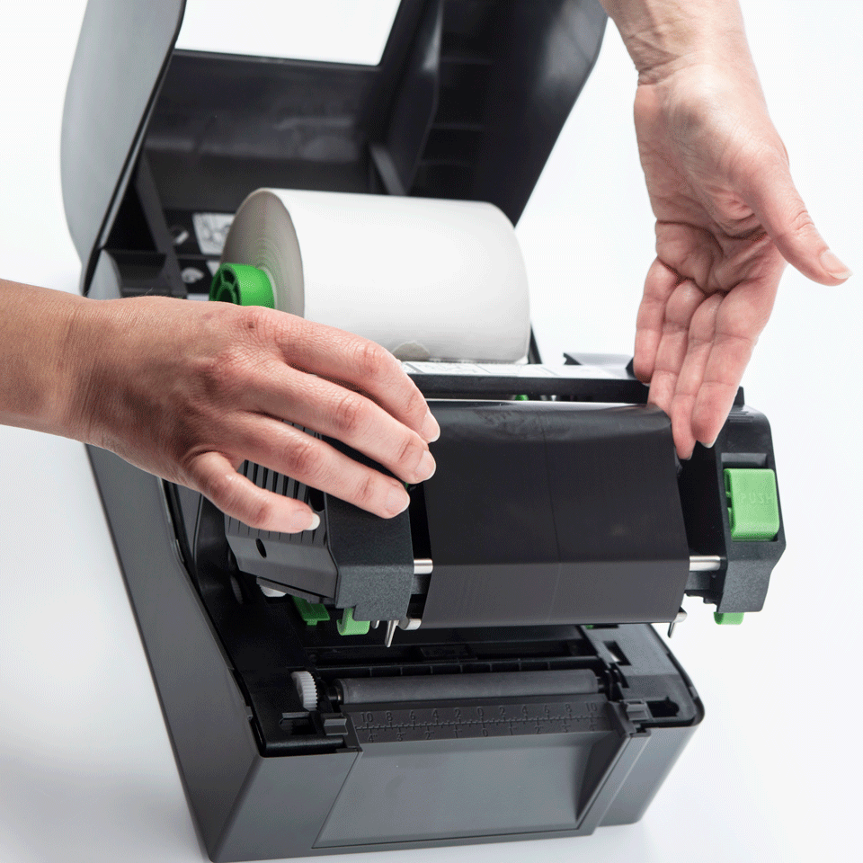 TD-4520TN Thermo-transfer labelprinter met Ethernet 5