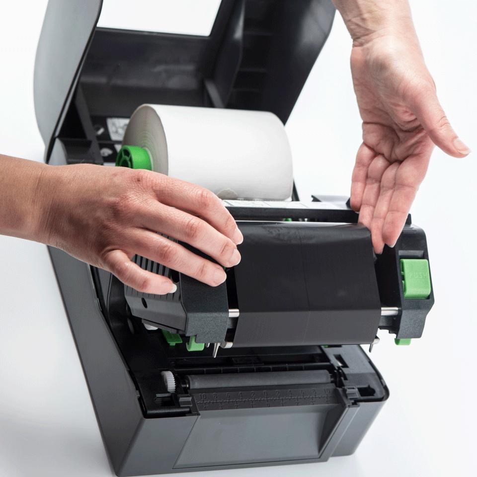 TD-4520TN 4 inch desktop labelprinter - thermische overdracht 5