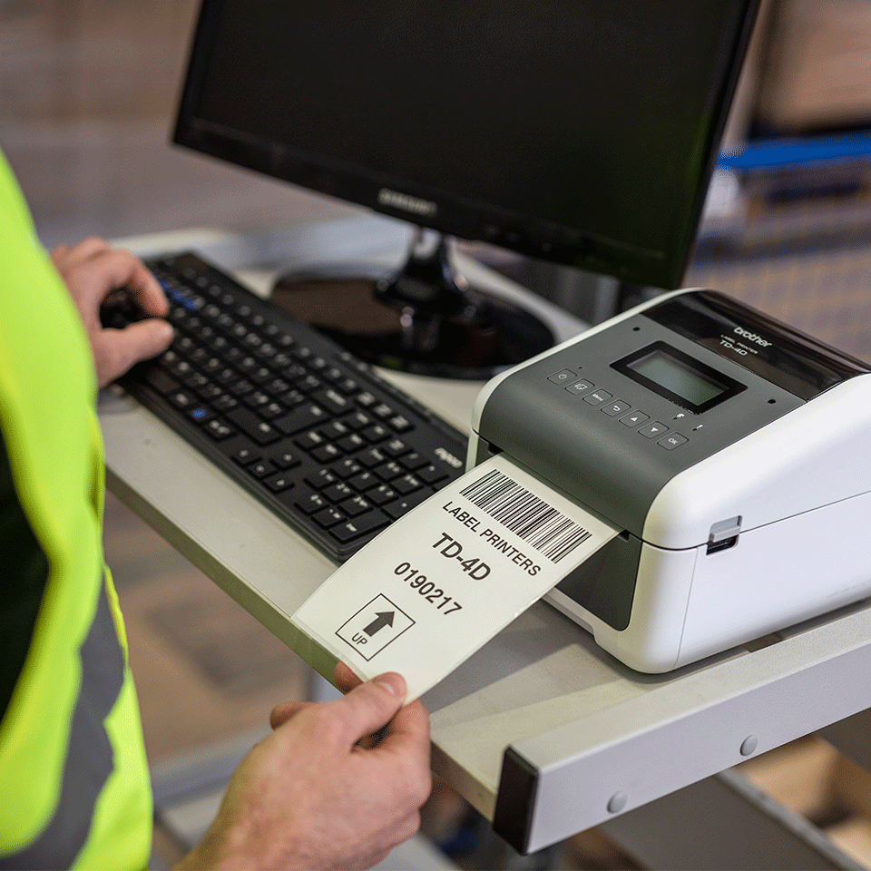 TD-4550DNWB Professionele netwerklabelprinter met Bluetooth 7