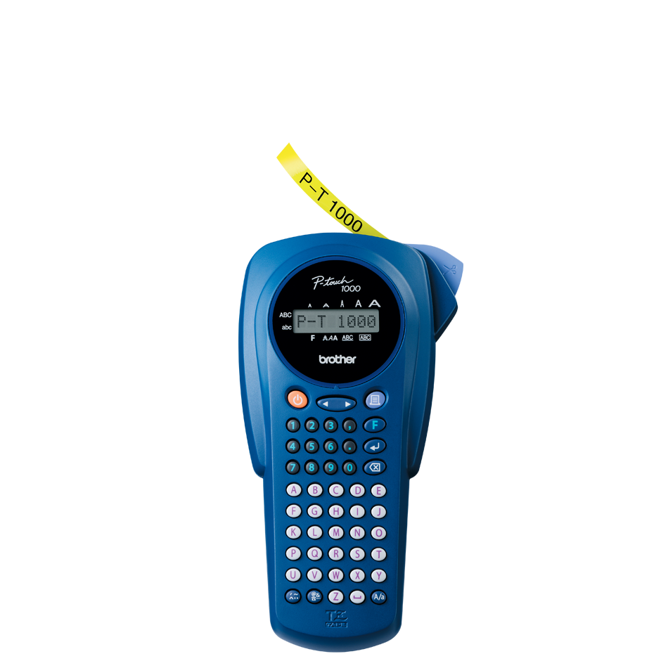 PT-1000L P-touch tape labelprinter