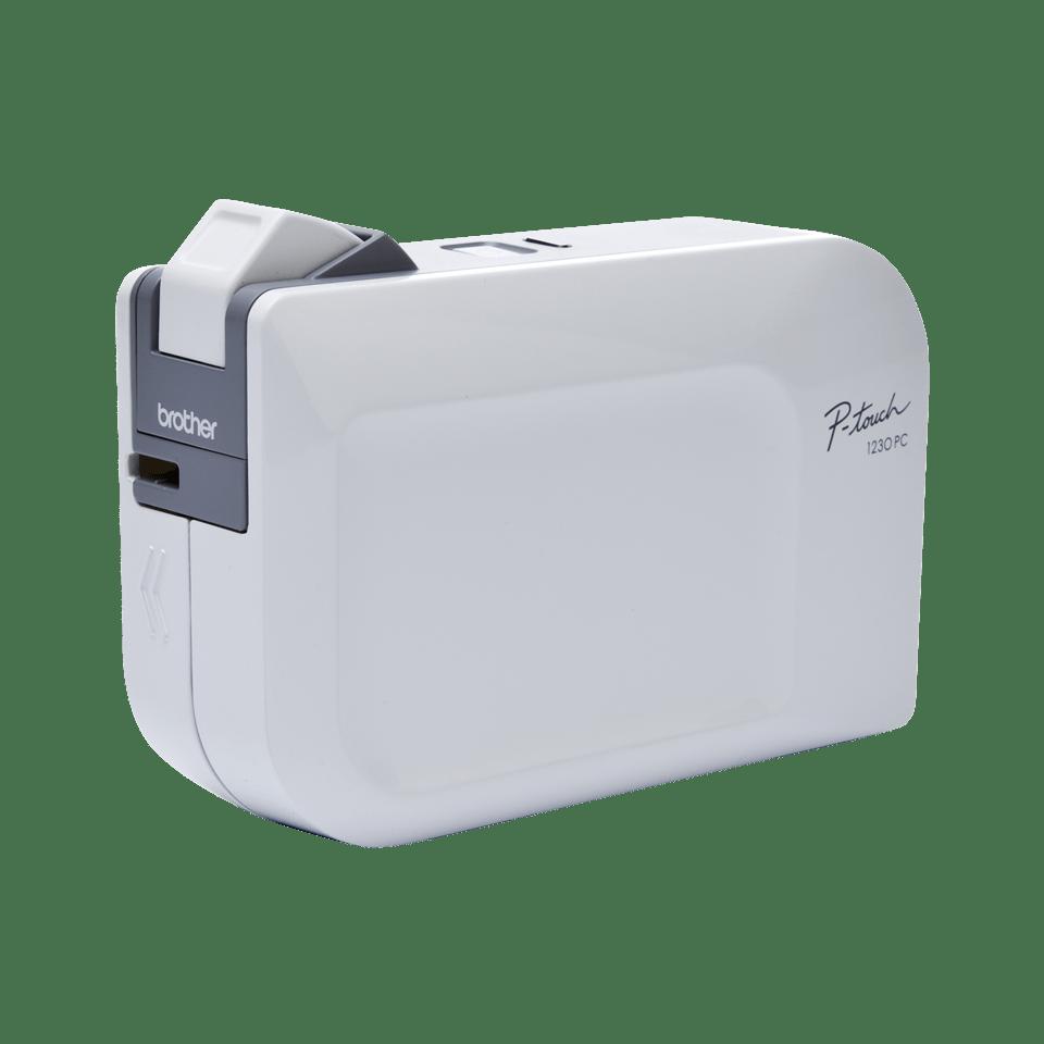 PT-1230PC P-touch tape labelprinter
