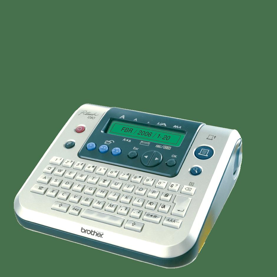 PT-1280DT P-touch tape labelprinter