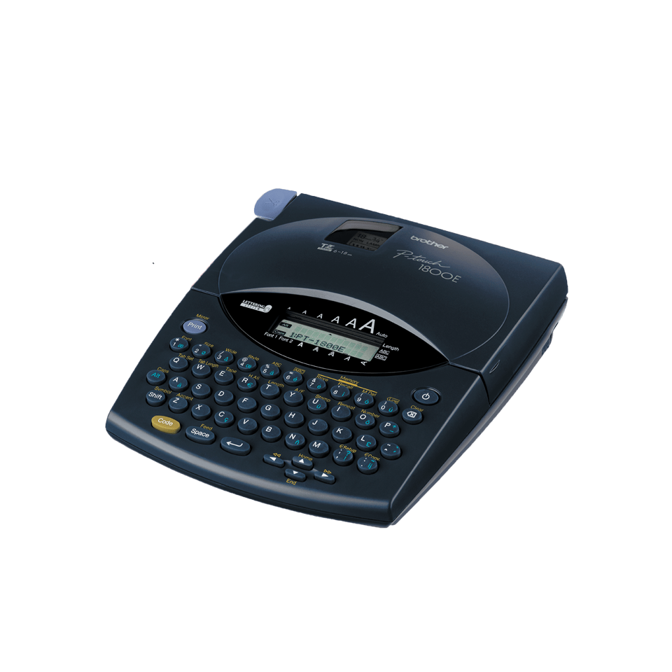 PT-1800 P-touch tape labelprinter