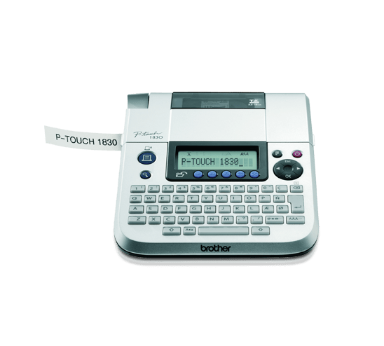 PT-1830 P-touch tape labelprinter