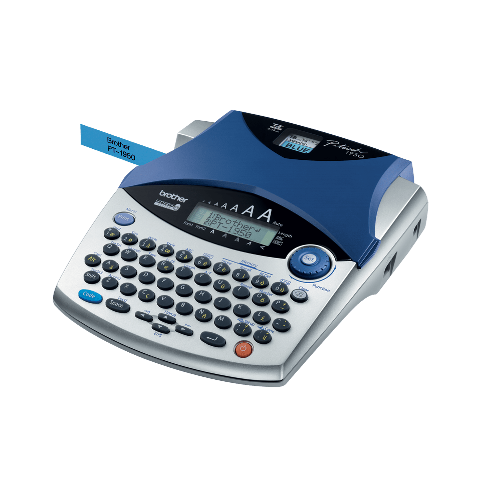 PT-1950 P-touch tape labelprinter