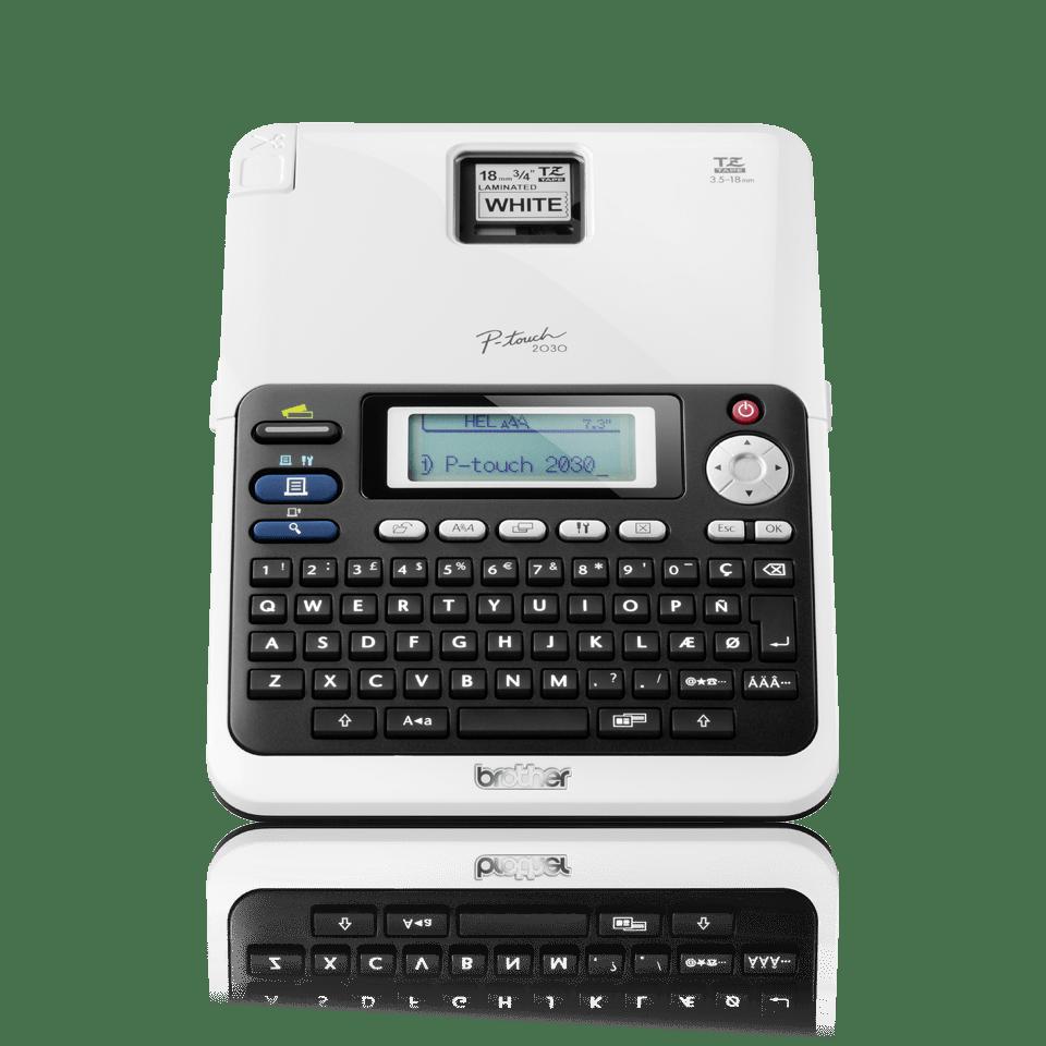 PT-2030 P-touch étiqueteuse à ruban