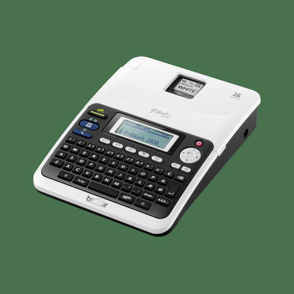 PT-2030VP P-touch tape labelprinter