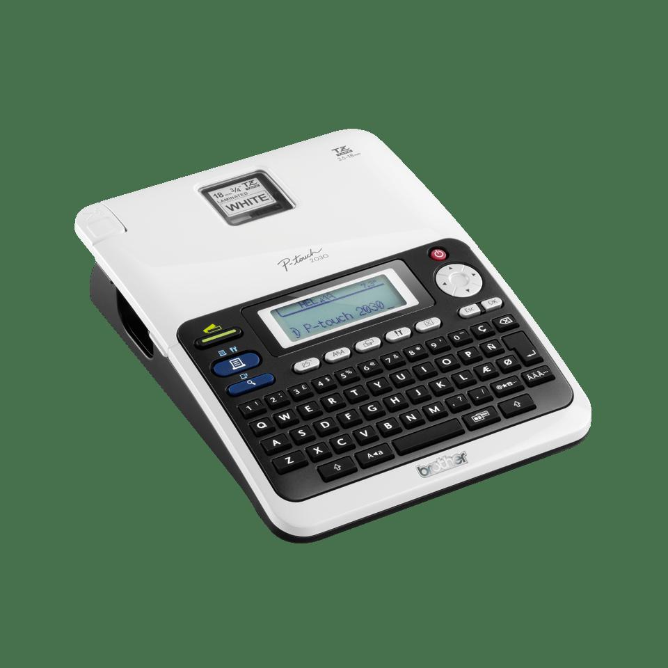 PT-2030VP P-touch étiqueteuse à ruban 3