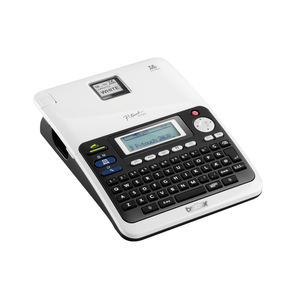 PT-2030VP P-touch tape labelprinter 3