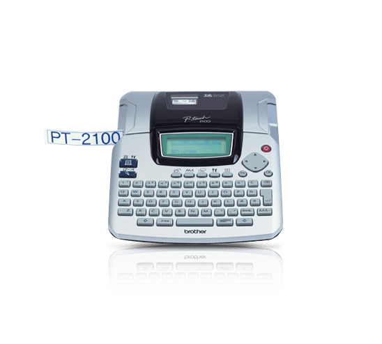 PT-2100 P-touch tape labelprinter