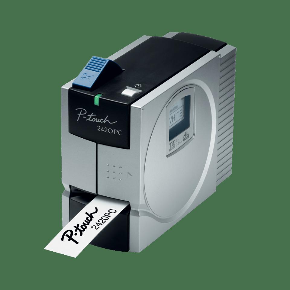 PT-2420PC P-touch tape labelprinter