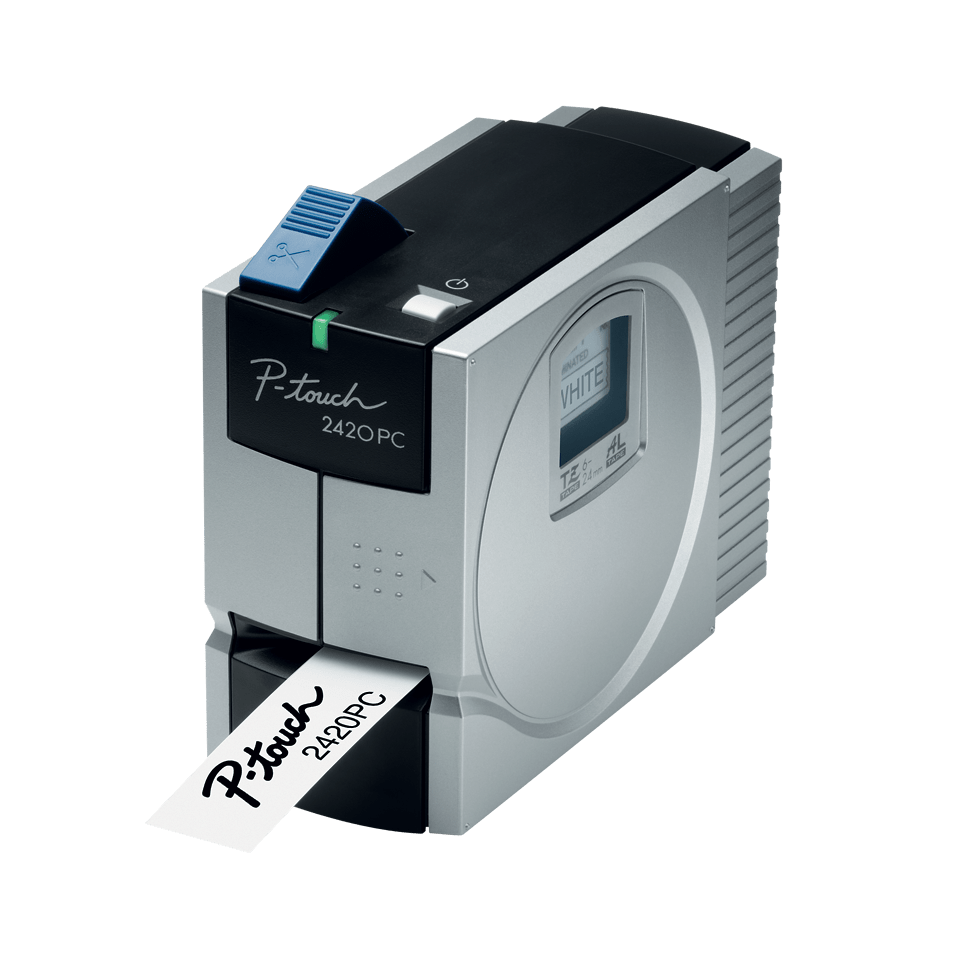 PT-2420PC P-touch tape labelprinter