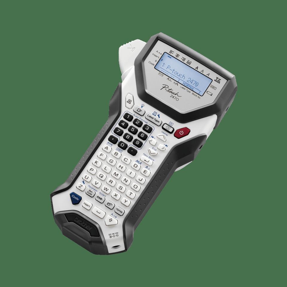 PT-2470 P-touch tape labelprinter