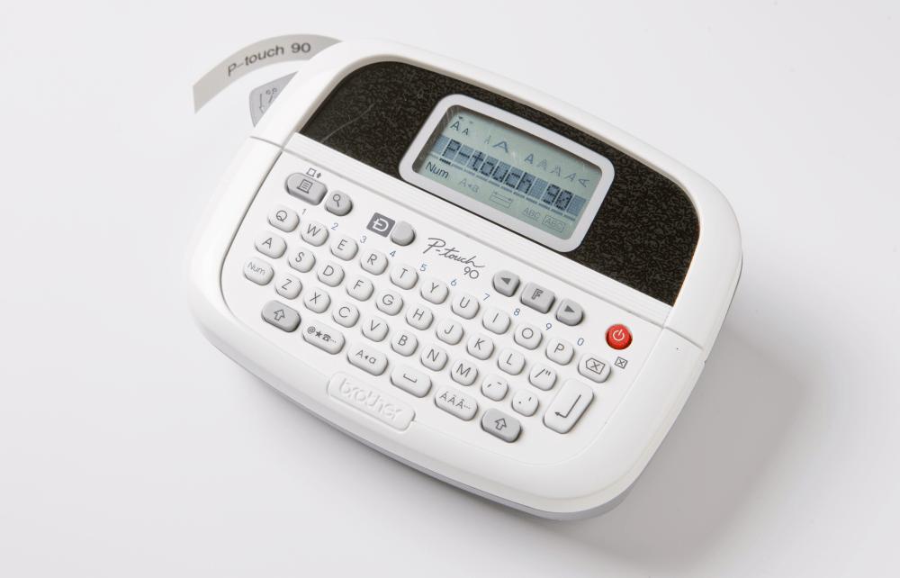 PT-90 P-touch tape labelprinter