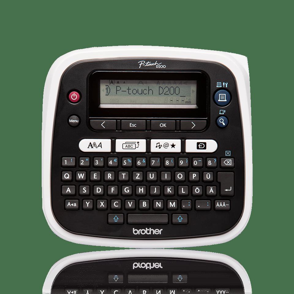 PT-D200BWVP P-touch tape labelprinter 2