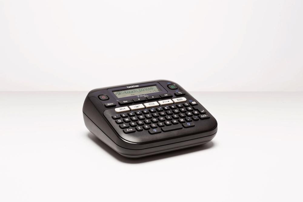 PT-D210VP 12mm P-touch desktop labelprinter 2