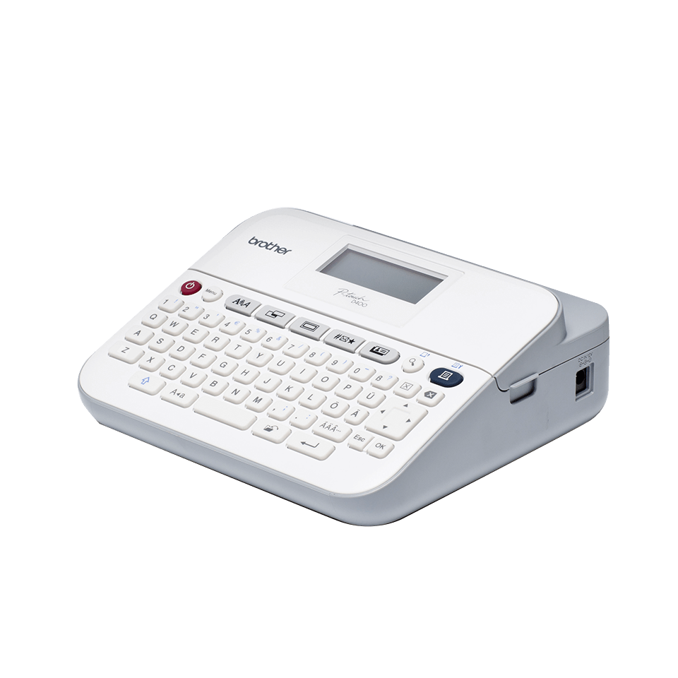 PT-D400 imprimante d'étiquettes de bureau P-touch 18 mm 2