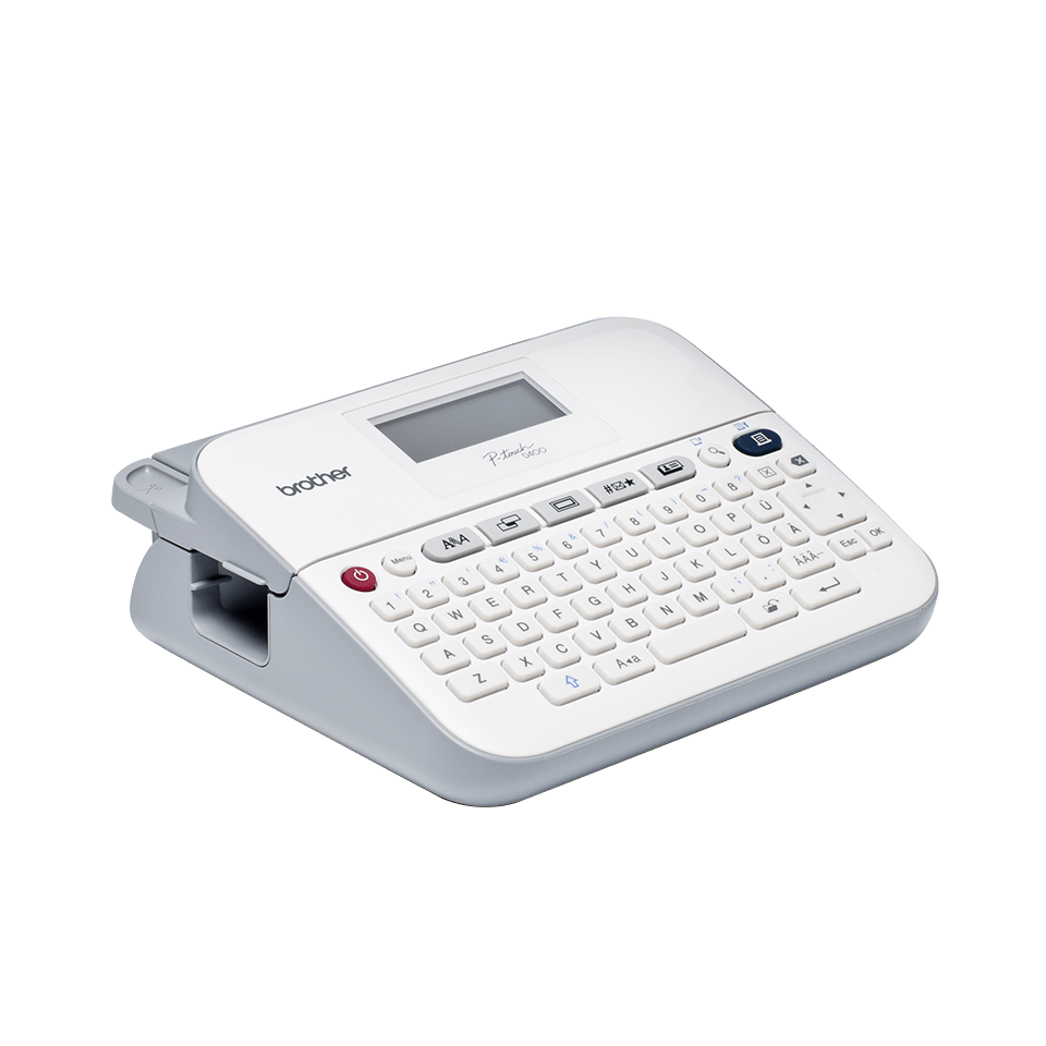 PT-D400 18mm P-touch desktop labelprinter 3