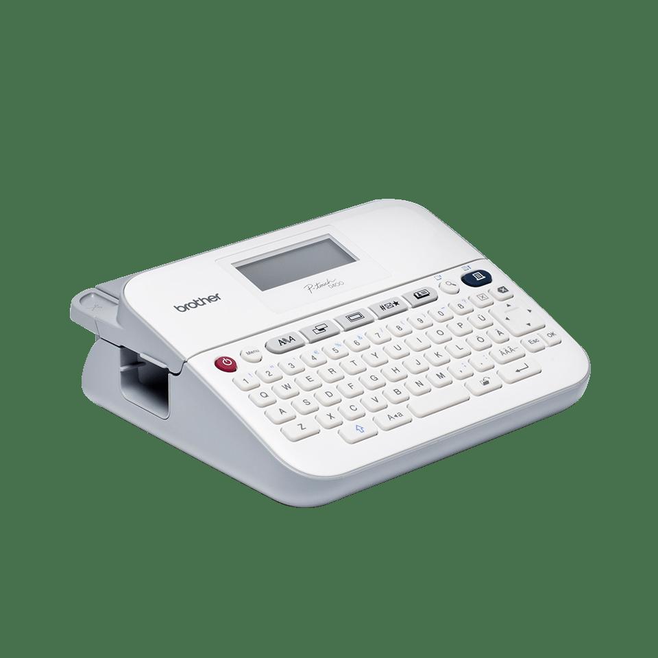 PT-D400 18mm P-touch desktop labelprinter 3