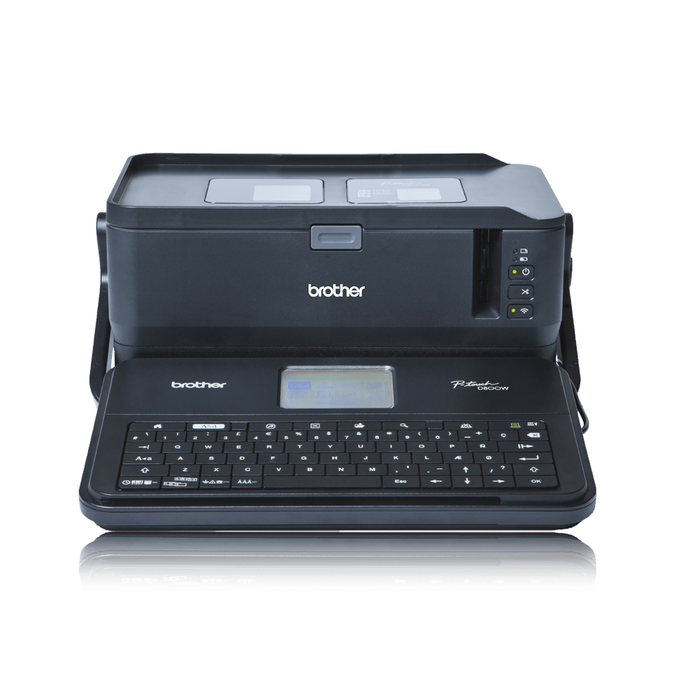 PT-D800W 36mm P-touch desktop labelprinter 5