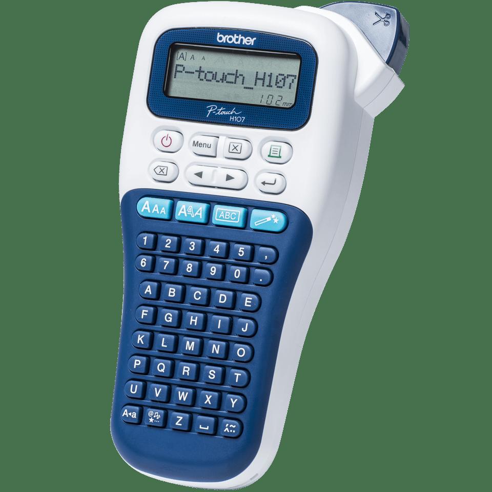 P-touch PT-H107B draagbare labelprinter voor thuis en het kantoor