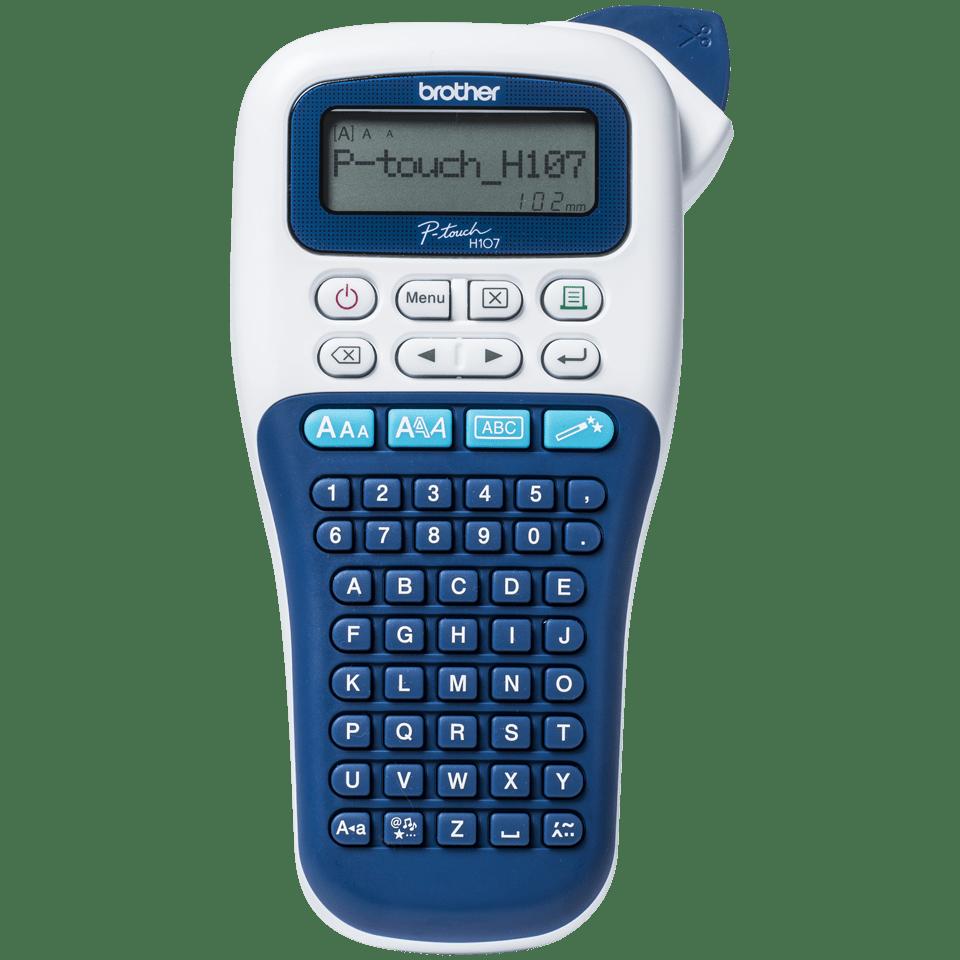 P-touch PT-H107B imprimante d'étiquettes portable pour la maison et le bureau