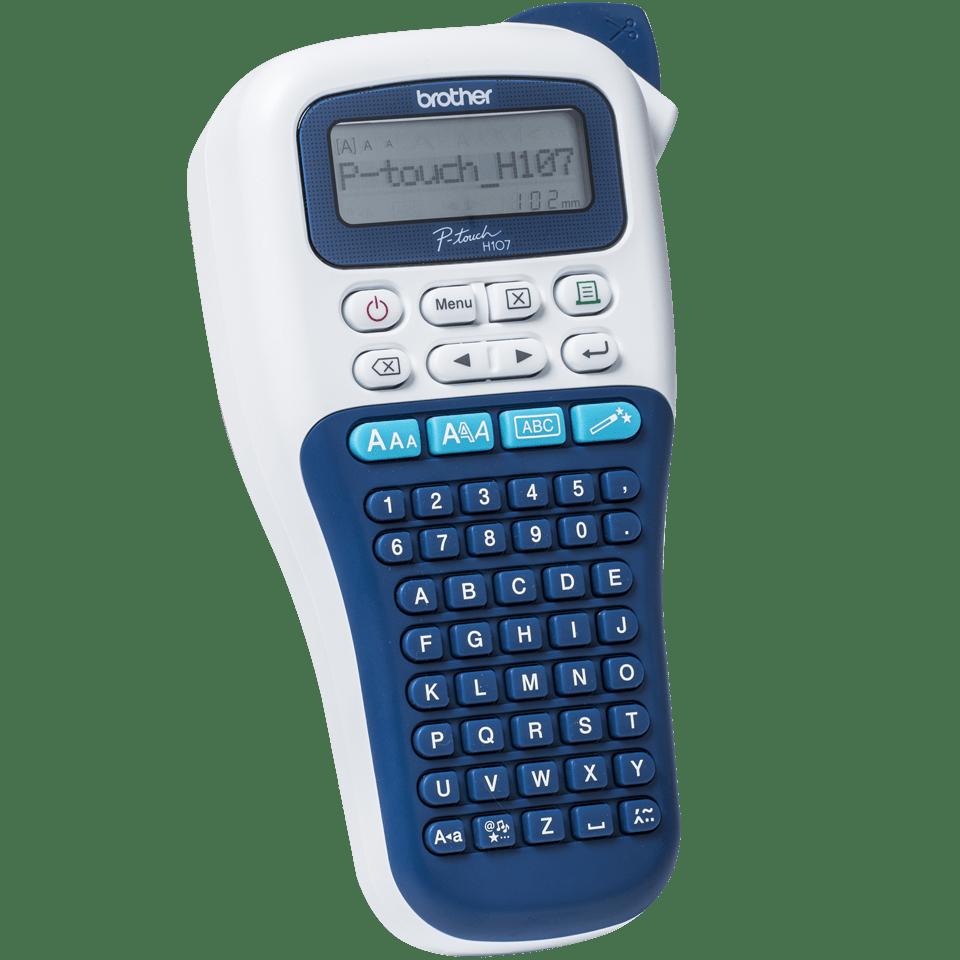 P-touch PT-H107B draagbare labelprinter voor thuis en het kantoor 3