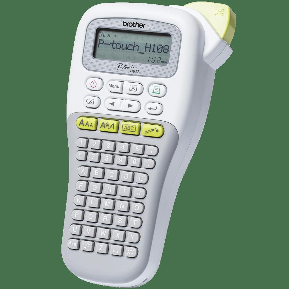P-touch PT-H108G imprimante d'étiquettes portable pour la maison et le bureau