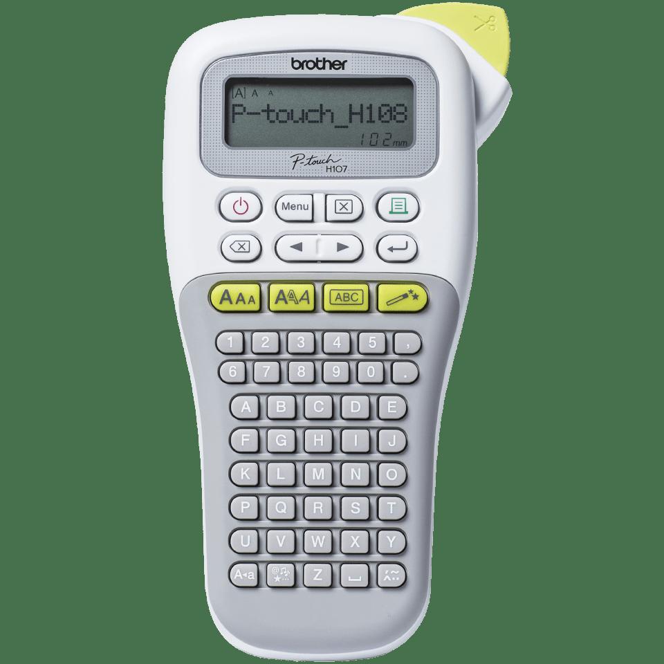 P-touch PT-H108G draagbare labelprinter voor thuis en het kantoor